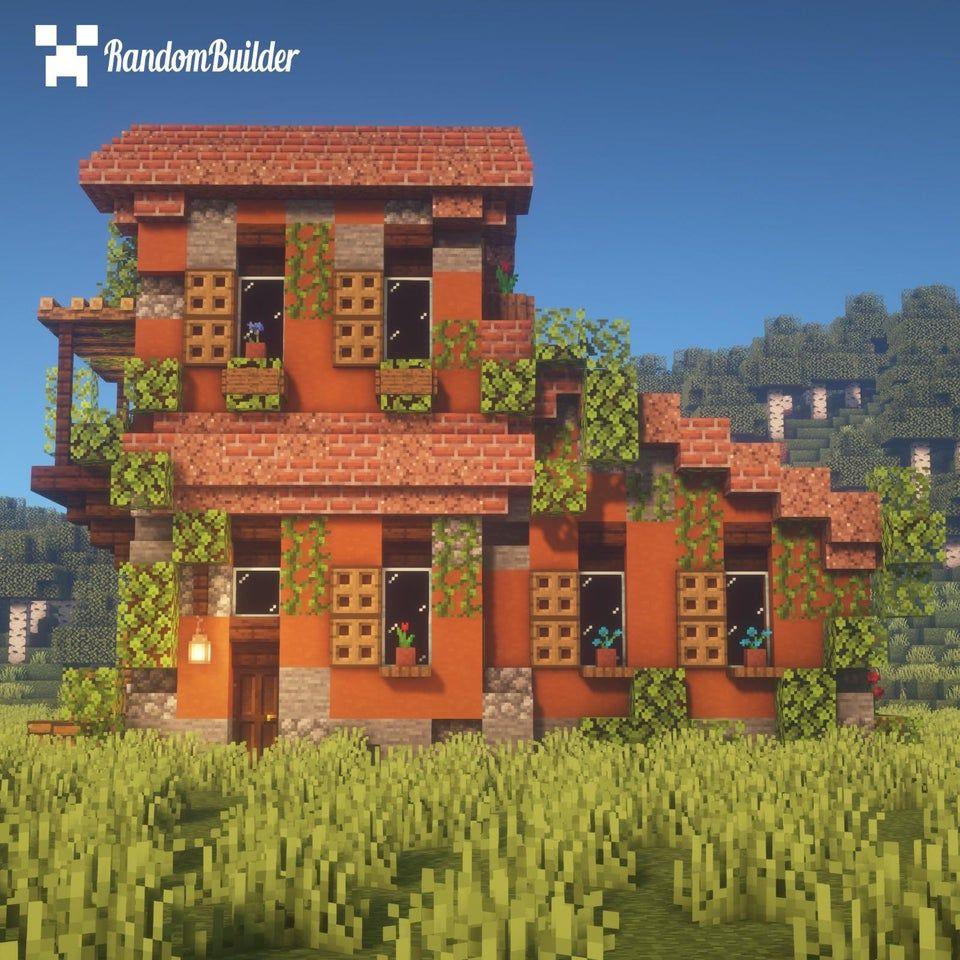 Minecraft Fr On Twitter Une Idee De Design Pour Votre Maison Italienne Dans Minecraft Https T Co Pig4sehxeo