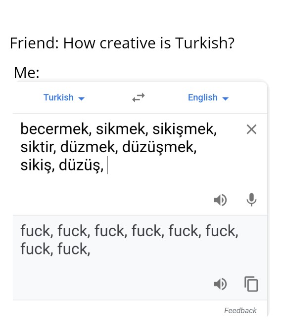 My Uncle S Meme Stash On Twitter Actually Turkish Is Very Rich