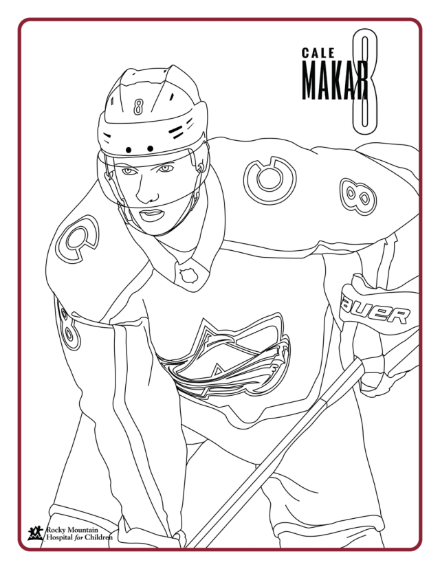 """Colorado Avalanche on Twitter: """"Blank coloring pages, from us to"""