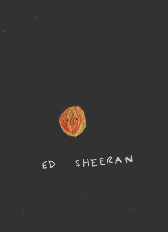 Ed Sheeran - Noel Fielding