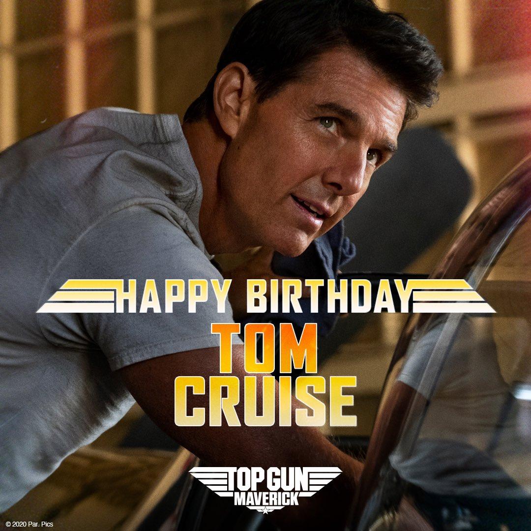 Skydance On Twitter Happy Birthday To The One And Only Maverick Tomcruise Topgun Topgunmovie