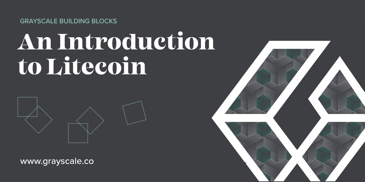Are you familiar with #Litecoin? Get familiar with our Building Blocks series $L... 1