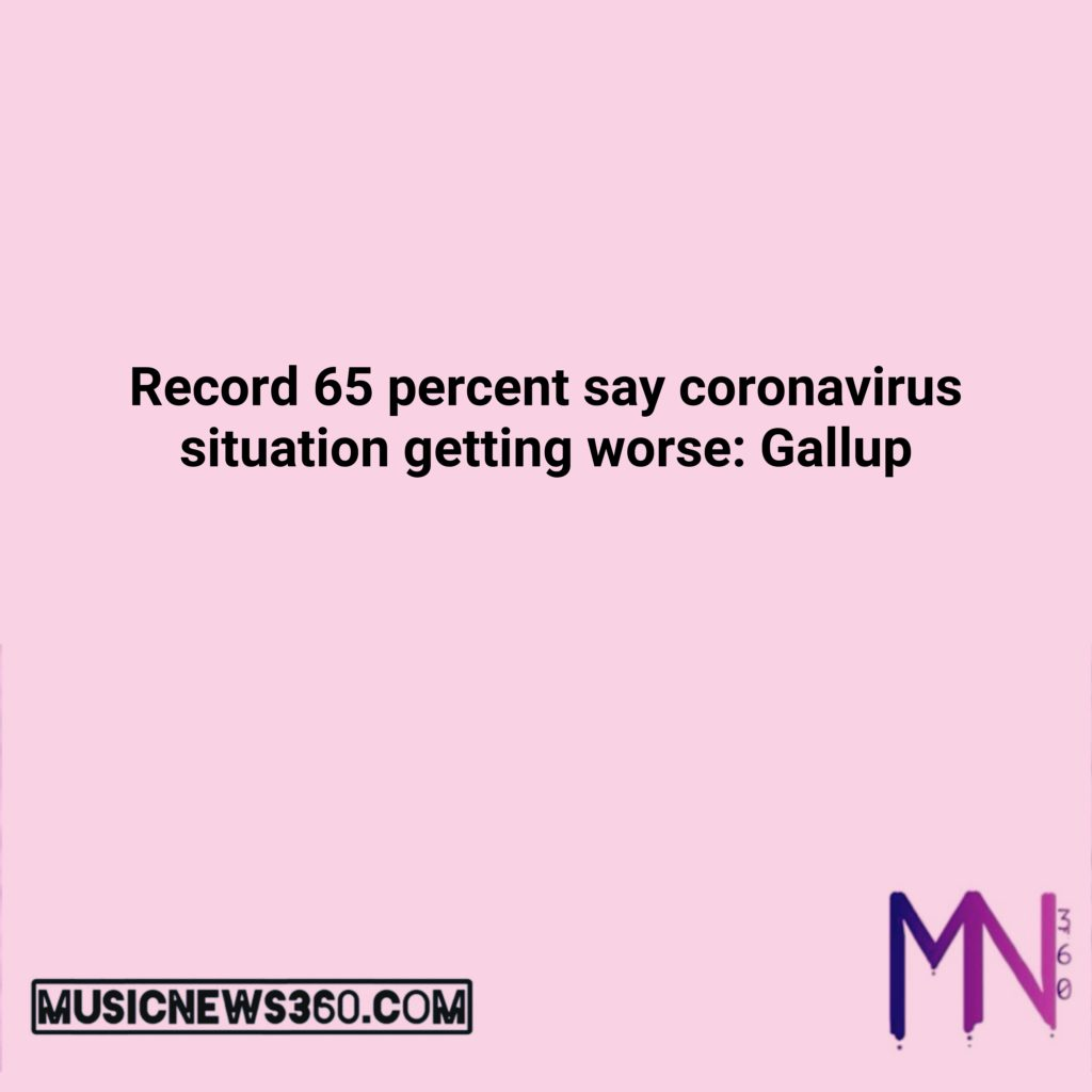Record 65 percent say coronavirus situation ... $AAPL $AMZN $BTC $ETH $FB $GOOG ... 13