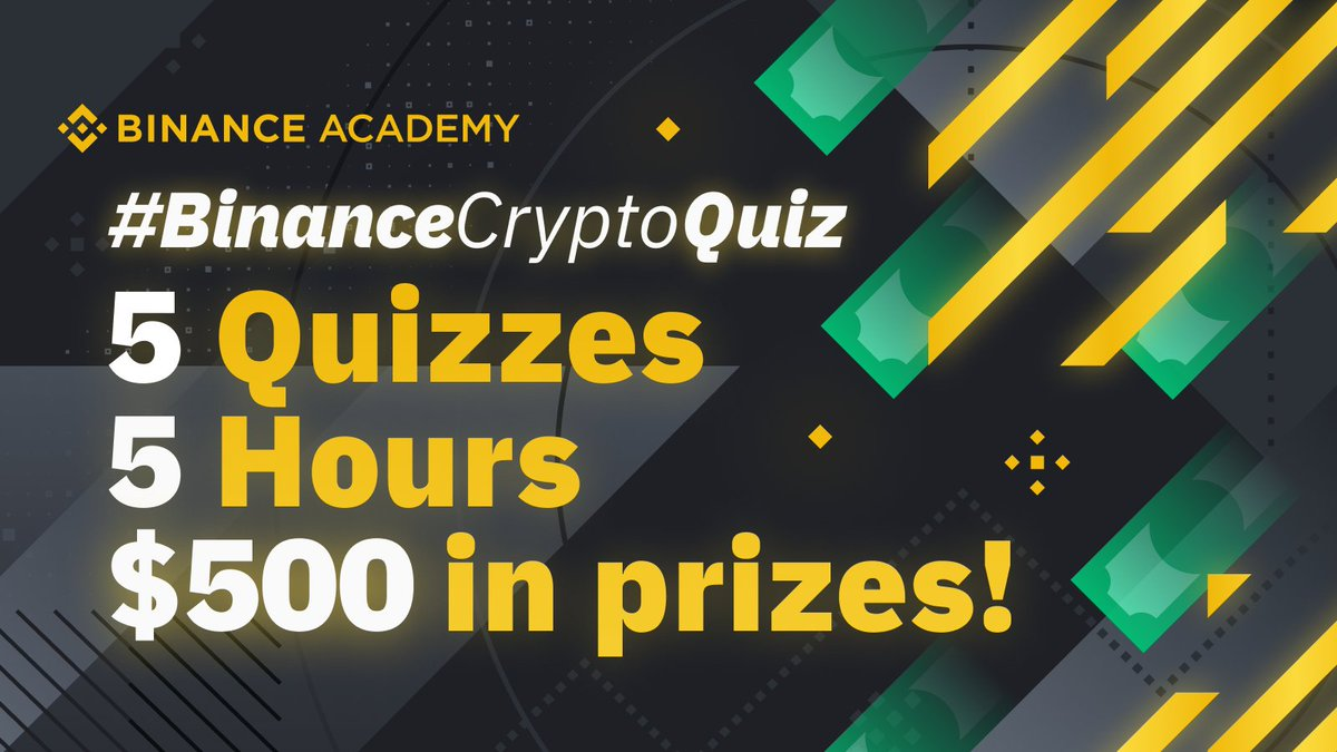 #BinanceCryptoQuiz Question 3:    One lucky winner will get $100 in BNB!   Accor... 1