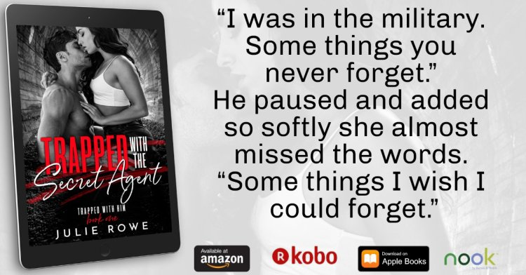 """Julie Rowe on Twitter: """"Trapped with the Secret Agent – available ..."""