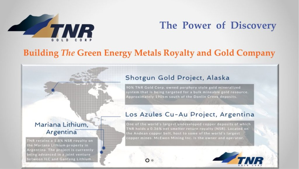 Building The Green Energy Metals Royalty And Gold Company: Powered by #Gold and ... 10