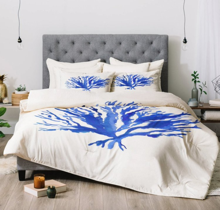 Laura Trevey On Twitter Coastal Bedroom Ideas Our Crisp Blue And White Sea Coral Comforter Https T Co Bnhojvbede Coastalhome Coastaldecor Https T Co Pgdlwrhadz