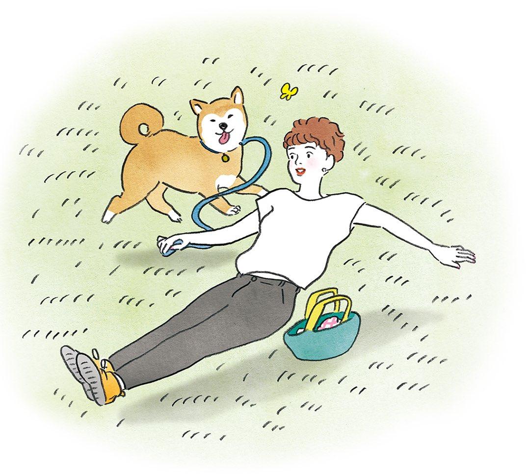 """test ツイッターメディア - 「いぬのきもち 8月号」の""""やめるだけメソッド""""でイラストを描かせていただきました🐶  ああ柴犬。。 たまらないあの後ろ姿。。 https://t.co/rwntswR3jE"""