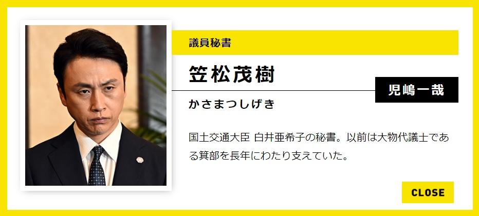 """KIJ46 on Twitter: """"半沢直樹に アンジャッシュ児嶋!!! » 相関図 ..."""