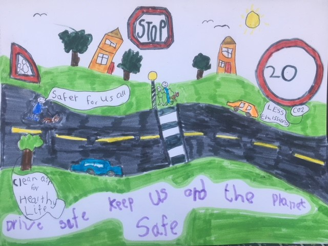 safety wales poster competition winner