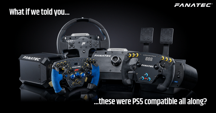 """Fanatec on Twitter: """"PS5 compatibility approved! https://t.co/ElsYyysKy7 😍… """""""