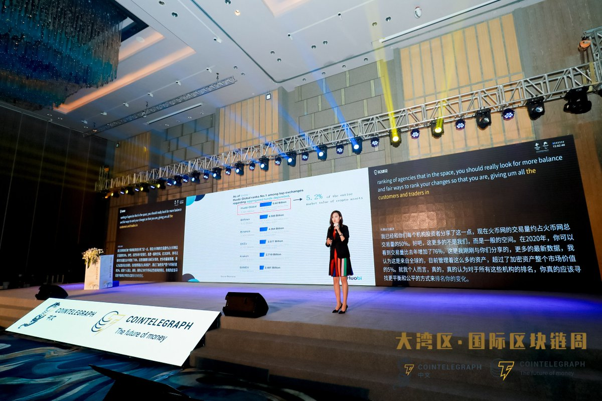 I spoke at the #Cointelegraph China Great Bay Area Int'l Blockchain Week to disc... 2