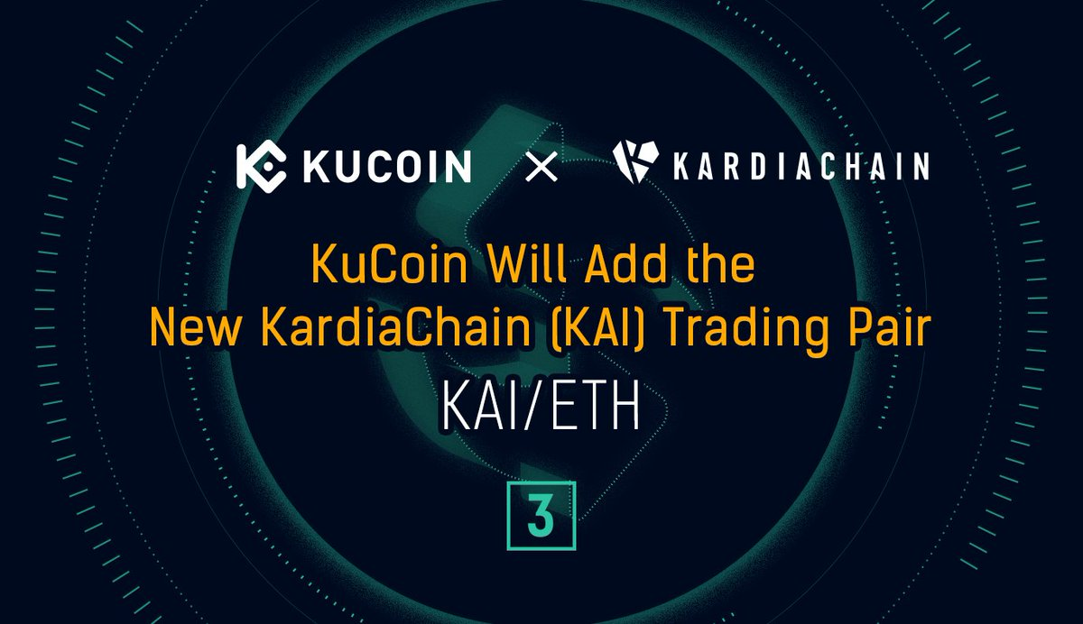 #KuCoin Will Add the KAI/ETH Trading Pair  KuCoin will open the trading service ... 2