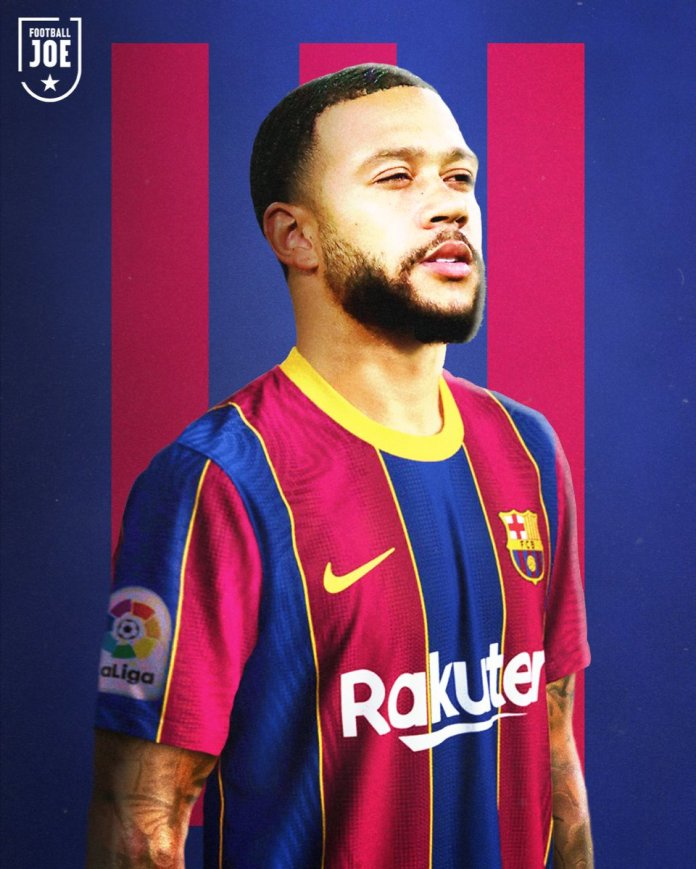 """FootballJOE on Twitter: """"Memphis Depay is set to join Barcelona after Lyon  accepted a fee of €25million for the forward… """""""