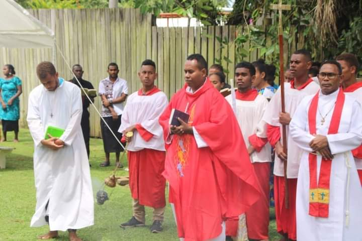 Wonderful to hear Revd Br Nelson MBH celebrated at the Eucharist for Patteson day in Fiji with Solomon Island families studying at University of the…