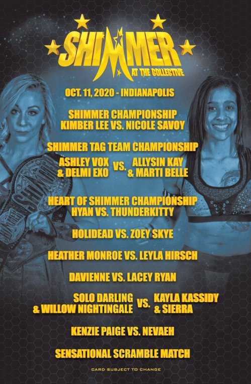 SHIMMER Wrestling (@SHIMMERwomen) | Twitter
