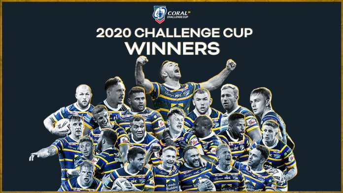 I've been to every @leedsrhinos final at Wembley since the early 90's & it was bizarre to watch it televised in an empty stadium. This has provided a much needed reason to cheer & I'm especially pleased that Rob Burrow got a chance to see Leeds claim a major trophy again #Rhinos