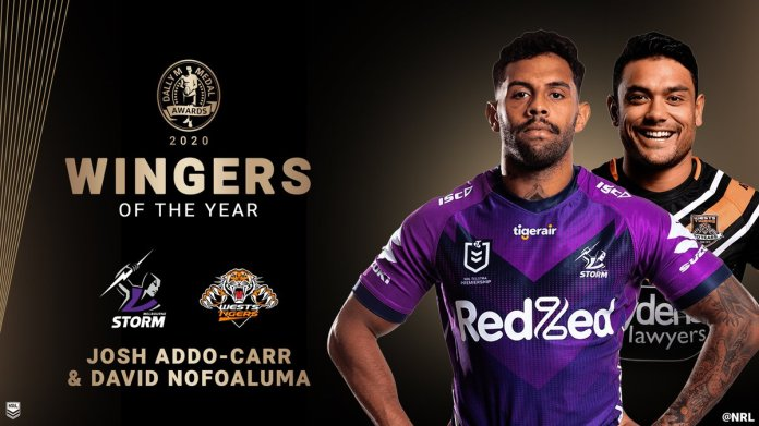 Nice recognition for a massive year! Shining light of the @WestsTigers season, congrats @DNofoaluma!