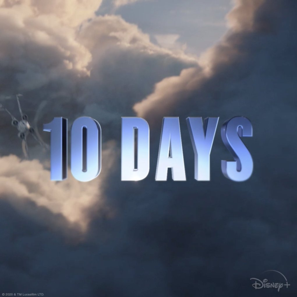 Image for the Tweet beginning: 10 days. The new season