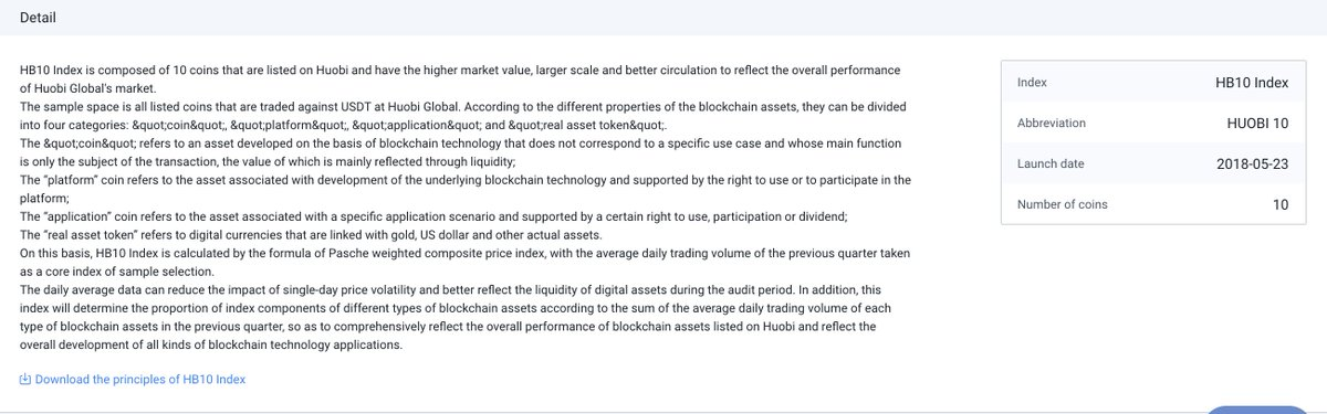 $TRX & $BTT is on the list of HB10 Index of @HuobiGlobal. HB10 Index is composed... 4