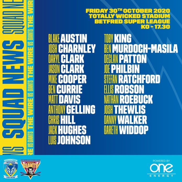 Warrington Wolves' Super League fixture against Salford on Friday was cancelled this morning after @SalfordDevils withdrew due to shortage of fit players. Wire were awarded a 24-0 win. And @WarringtonRLFC will now play @Giantsrl in a rearranged fixture on Friday. It's all go.