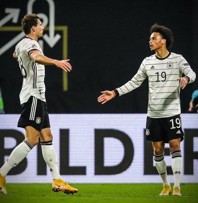 "B/R Football's tweet - ""Leroy Sane scores his first Germany goal since June  2019 ✨ "" - Trendsmap"