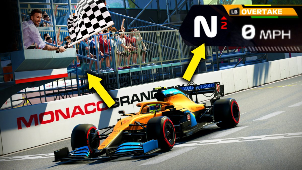 I WON a race without moving on the F1 2020 game! – YouTube