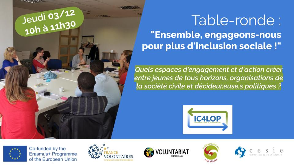 Our own #IC4LOP event is happening in Ireland on 08 Dec to join in with #TogetherWeCan💙#IVD2020 celebrations...good luck @FVolontaires @VoluntariatSlov and @cesieong #volops