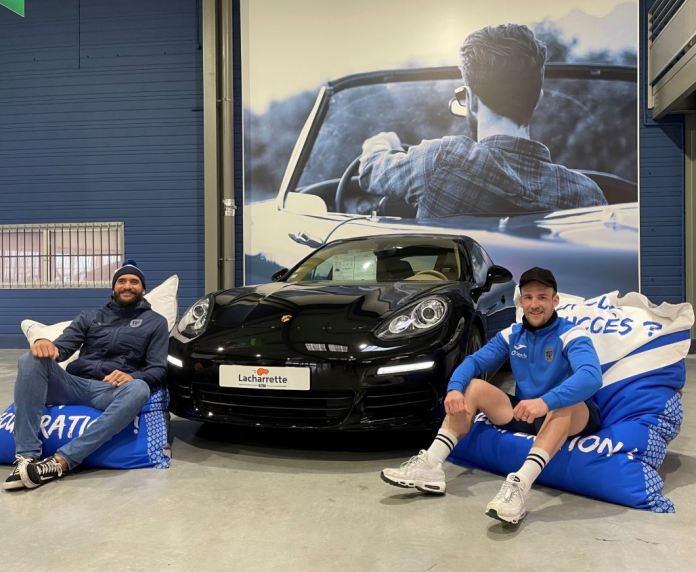 Porsche-ing forward... Toulouse Olympique get supercar support for their @SuperLeague ambitions with a brand new business partner. 💙🇲🇫🏉