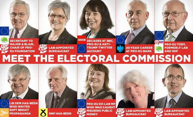 """Pete Durnell on Twitter: """"Same Electoral Commission which raided the Brexit  Party's Head Office twice in 2019 (found nothing) - but all other  parties... zero times. Could they, just possibly, be demonstrating"""