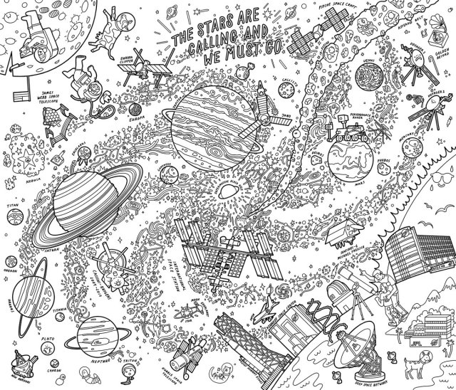 """NASA JPL on Twitter: """"Weve released new coloring pages for the"""