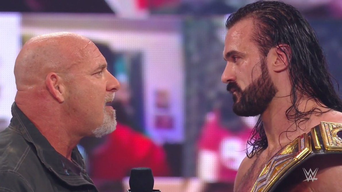 Goldberg Returns To RAW And Challenges WWE Champion Drew McIntyre For WWE  Royal Rumble - Wrestling Inc.