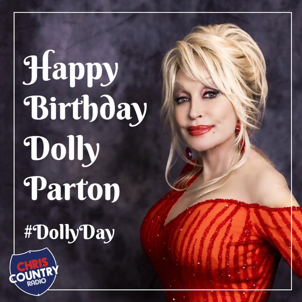Chris Country Radio على تويتر Happy Birthday Dollyparton The Queen Of Country Music Is 75 Today And We Re Playing Dolly Tracks All Day Long Switch Us On For Lots Of