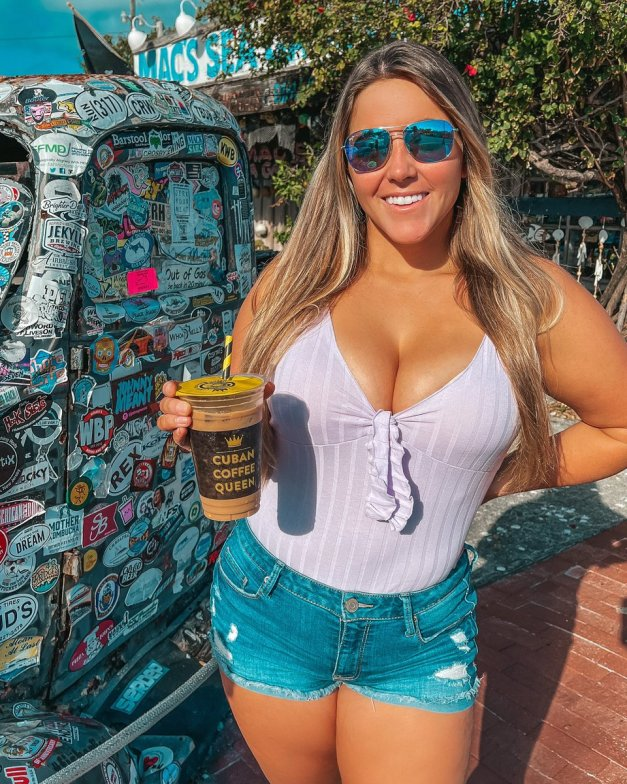 """Katherine Salom on Twitter: """"Started the morning with some coffee in Key West🌴☕️🥰… """""""