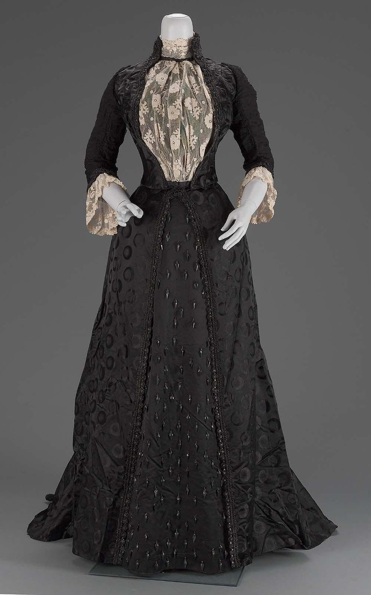 Woman's dress Designed by: Emile Pingat (French, active 1860–1896) For: House of Pingat (French, 1860-1896)