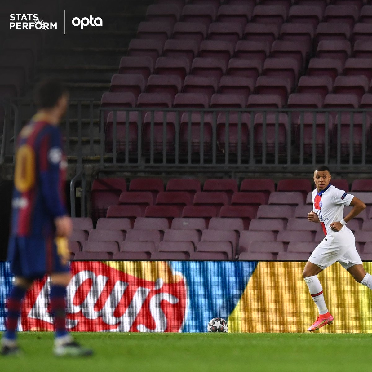 Optajoe On Twitter 3 Kylian Mbappe Is Only The Third Player To Score A Uefa Champions League Hat Trick Against Barcelona After Faustino Asprilla For Newcastle And Andriy Shevchenko For Dynamo Kyiv