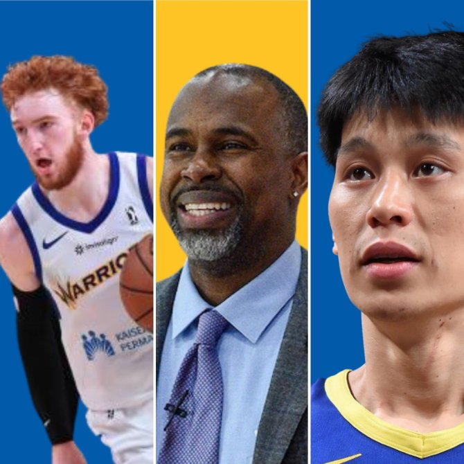 RT @TheUncoolUrban ALL TIMES ARE CENTRAL TIME  4PM: Nico Mannion  4:30PM: Coach Weems 5PM: Jeremy Lin  LINK: https://t.co/kPMkXCXsfC  #SeaDubs #DubNation #NBATwitter