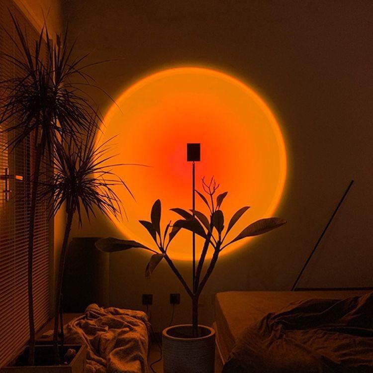 sunset lamp wow