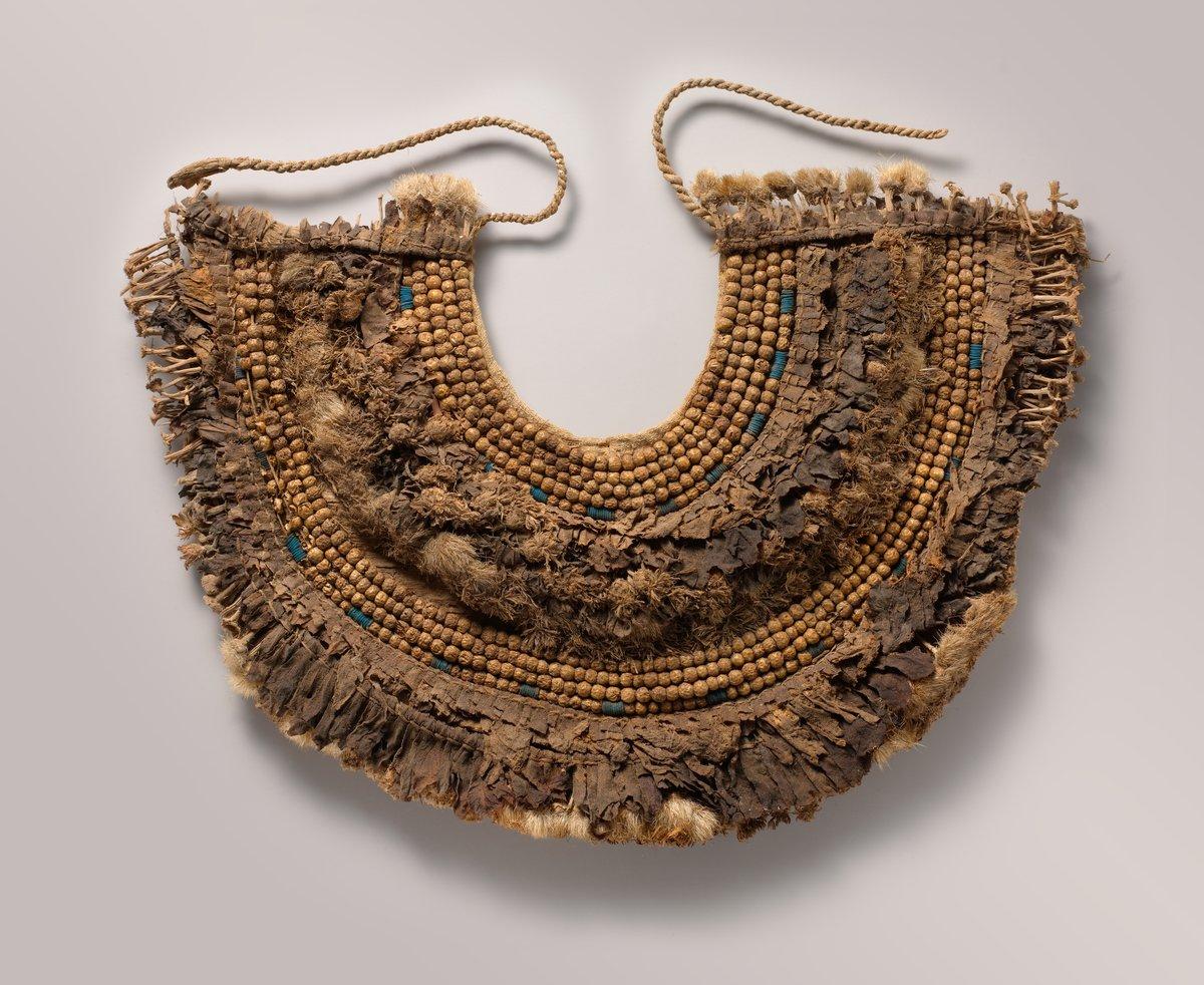 Floral Collar from Tutankhamun's Embalming Cache ca. 1336–1327 B.C. - Met Museum