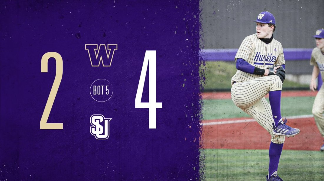 test Twitter Media - T5 | Redhawks extend their lead with a two-out RBI single.  Dalton Chandler will lead us off in the bottom of the fifth.  💻 https://t.co/6O5GqDUs3k 📊 https://t.co/Q3iKSRywd8  #DaWgStrong /// #GoHuskies https://t.co/5n4J1Ulx0L