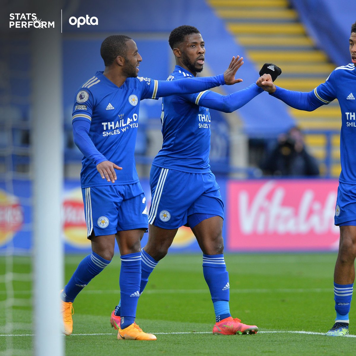 Optajoe On Twitter 3 Kelechi Iheanacho Has Scored The First Hat Trick Of His Premier League Career While Each Of The Last Three Hat Tricks In The Competition Have Been Scored By African