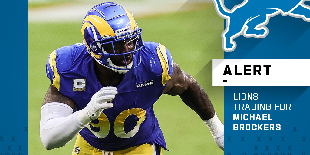 """NFL on Twitter: """"Rams, Lions finalizing a trade to send DL Michael Brockers  to Detroit. (via @TomPelissero)… """""""