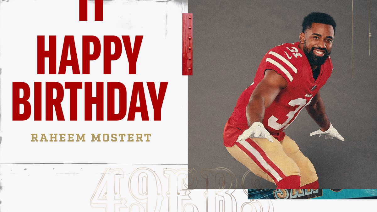 San Francisco 49ers On Twitter Happy Birthday Rmos 8ball