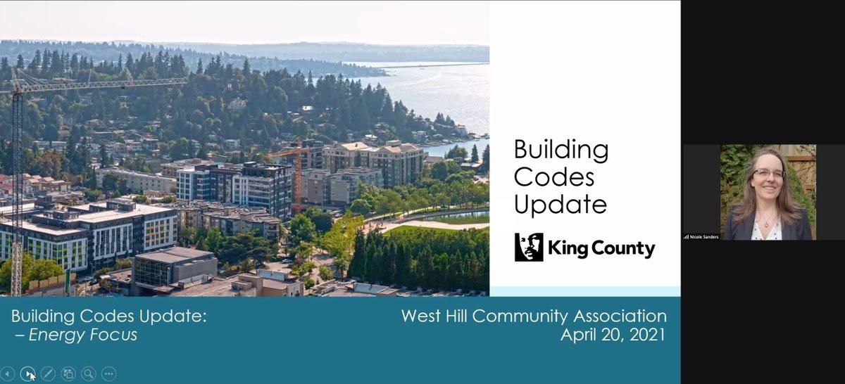 King County Building Codes Update slide