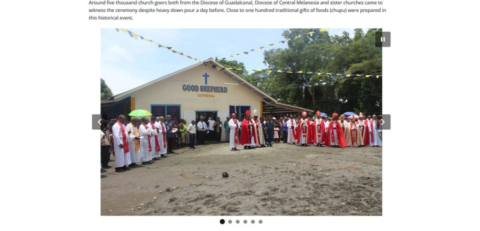 We pray today for the Diocese of Guadalcanal, in the Anglican Church of #Melanesia.   May God guide Bishop Benedict Loe, the clergy and lay people of…