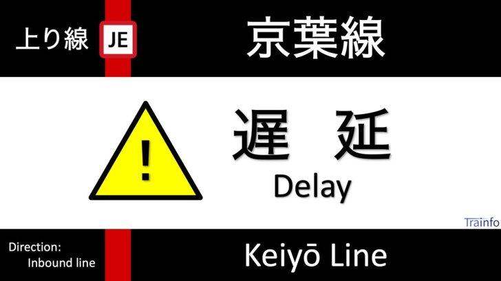 test ツイッターメディア - 【京葉線 上り線 遅延情報】 京葉線は、21:05頃、武蔵野線内での線路内人立入の影響で、新木場~東京の上り線の一部列車に10分以上の遅れがでています。 https://t.co/0rbk0bc8Qy