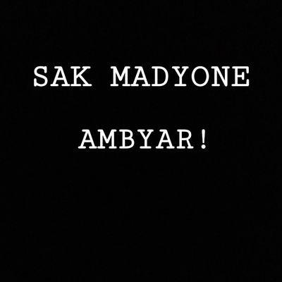 Sak Madyone Ambyar Skmdyone Ambyar Twitter
