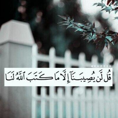 Saeed M Kabrah سعيد محمد كبرهـ لن يصيبنا الا ما كتب الله لنا