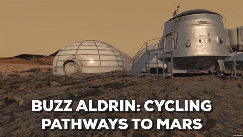 See Buzz Aldrin's plan to colonize Mars in virtual reality