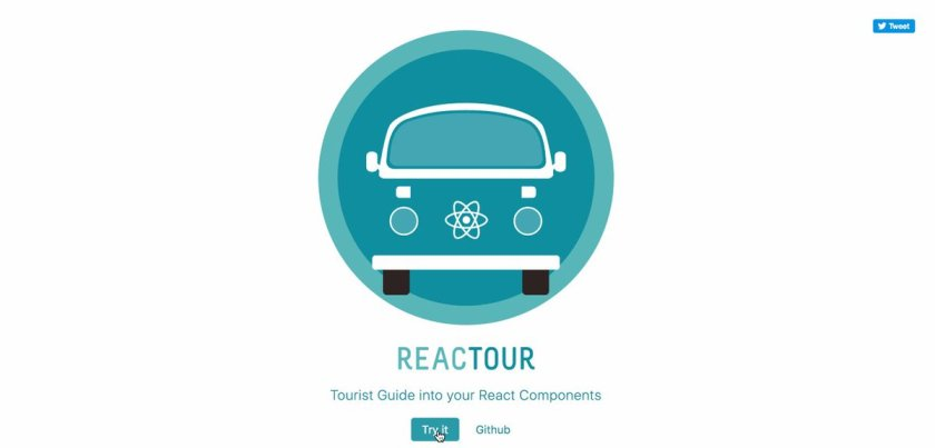 let's present **reactour**: a tourist guide into your @reactjs Components